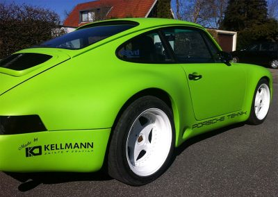 Bilindpakning af Porsche
